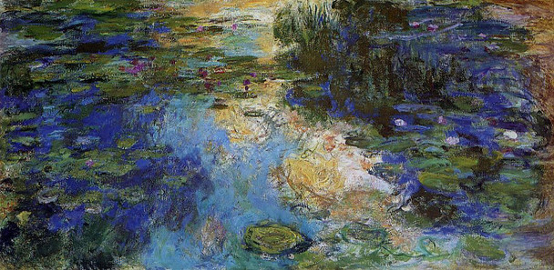 The Water Lily Pond6 By Claude Oscar Monet