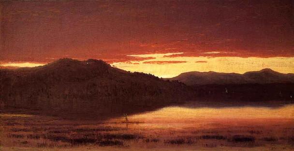 Twilight By Sanford Robinson Gifford