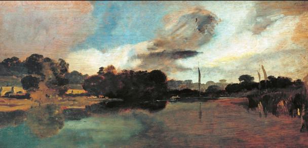 Walton Reach By Joseph Mallord William Turner