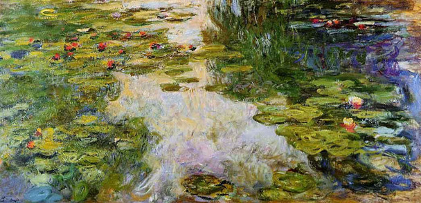 Water Lilies59 By Claude Oscar Monet