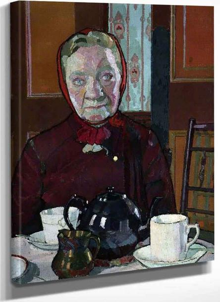 Mrs Mounter (The Artists Landlady) By Harold Gilman