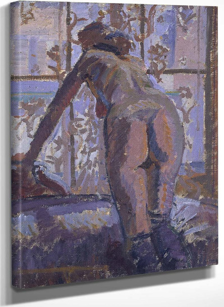 Nude At A Window By Harold Gilman