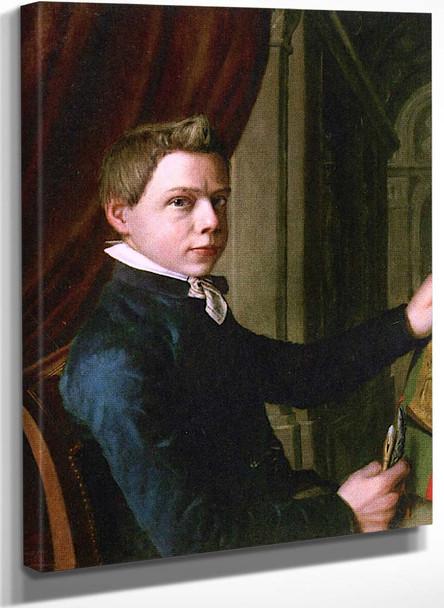 Self Portrait By Sir Lawrence Alma Tadema