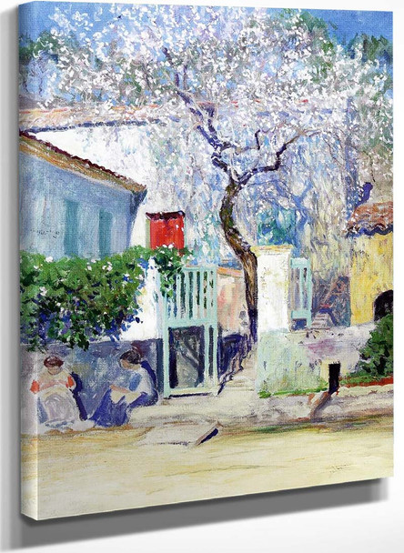 Spring On The Riviera By Guy Orlando Rose
