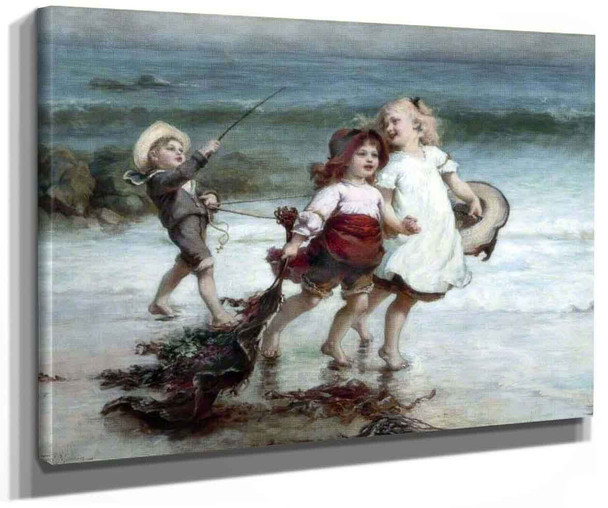 Sea Horses By Frederick Morgan