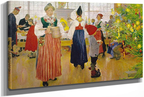 Now Its Christmas Again by Carl Larssonv