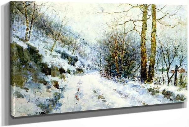 Winter Road by Paul Sawyier