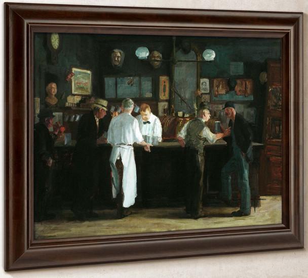 Mcsorleys Bar By John Sloan by John Sloan