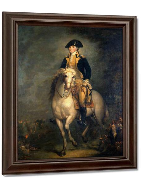 George On Horseback Web by Rembrandt Peale
