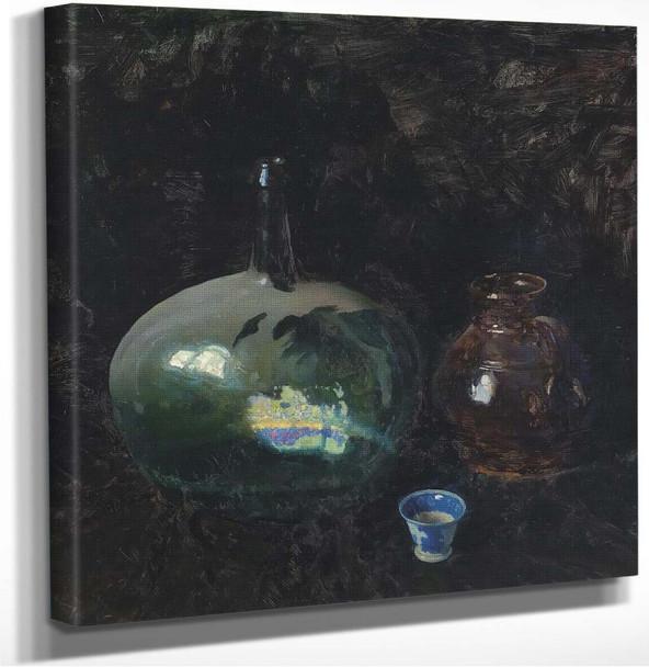 The Dusty Bottle by Nc Wyeth