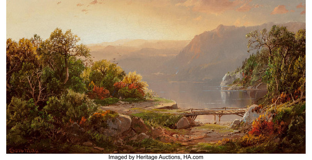Evening On The Shenandoah 1863 by William Louis Sonntag