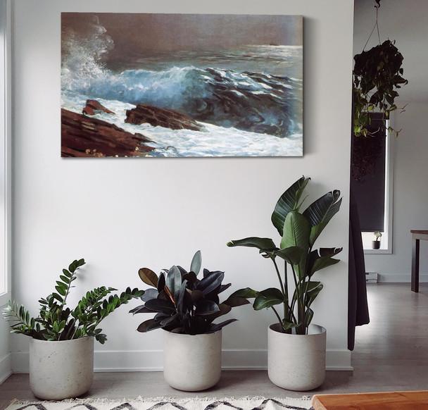 Sunlight On The Coast Winslow Homer