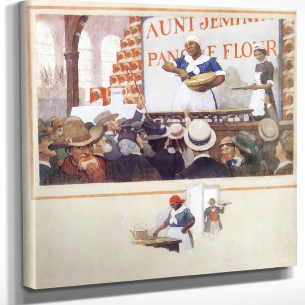Aunt Jemima At The Columbian Exposition In 1893 Nc Wyeth
