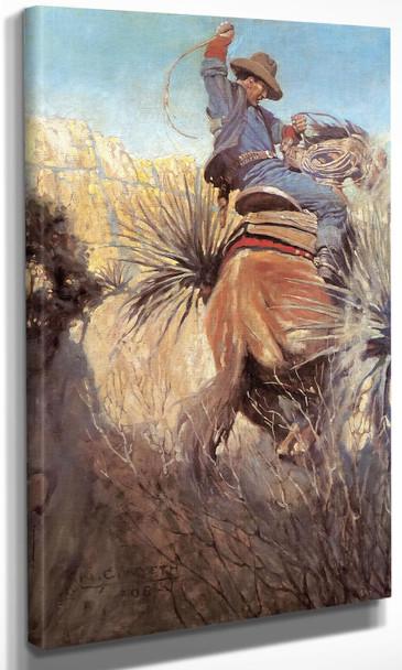 I Saw His Horse Nc Wyeth