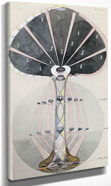 Tree Of Knowledge No 4 Hilma Af Klint