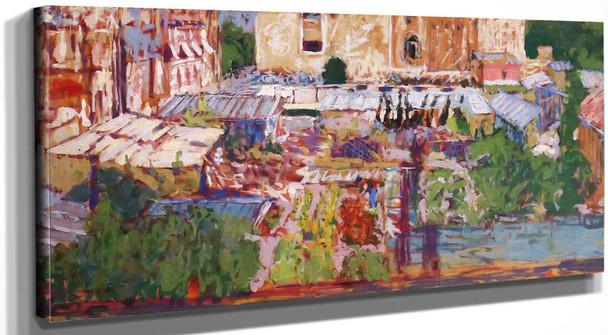 View From The Artists Window Edouard Vuillard