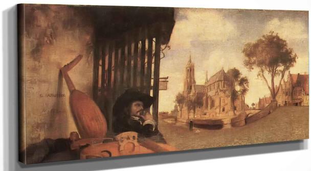 View Of Delft Johannes Vermeer