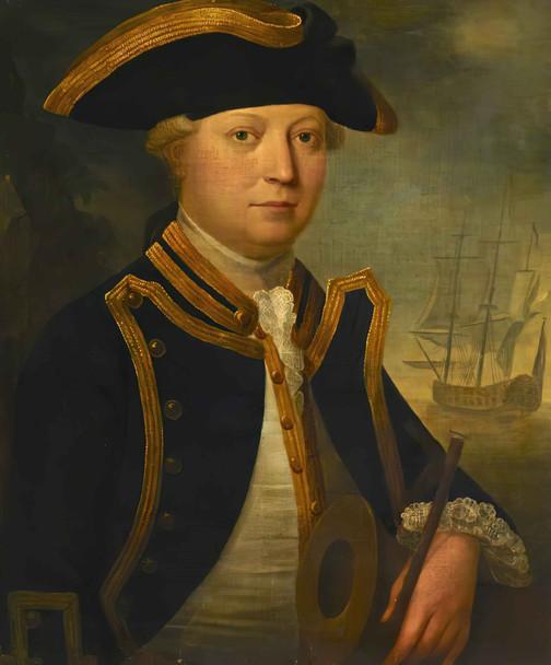 Commander Edward Vernon Yates by John George