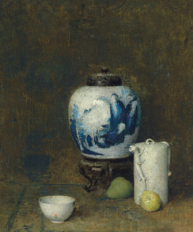 Soren Emil Carlsen (October 19, 1853 – January 2, 1932, New York City, U.S.)