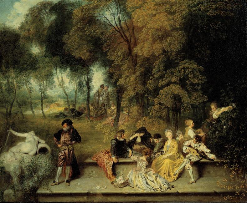 Jean-Antoine Watteau baptised October 10, 1684 - July 18, 1721 (aged 36)