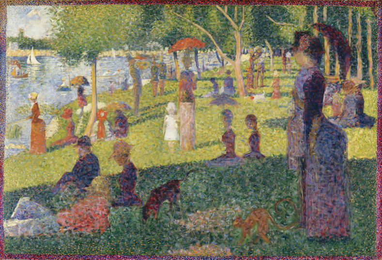 Georges Seurat (December 2, 1859 – March 29, 1891)