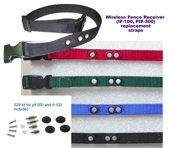 1 Inch 3 Non Consecutive Hole Receiver Strap PIF300 + RFA 529 Refresh Kit