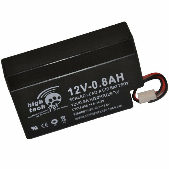 High Tech Pet Dog Rechargeable Battery Back-Up for Contain Transmitter-B12V-0.6