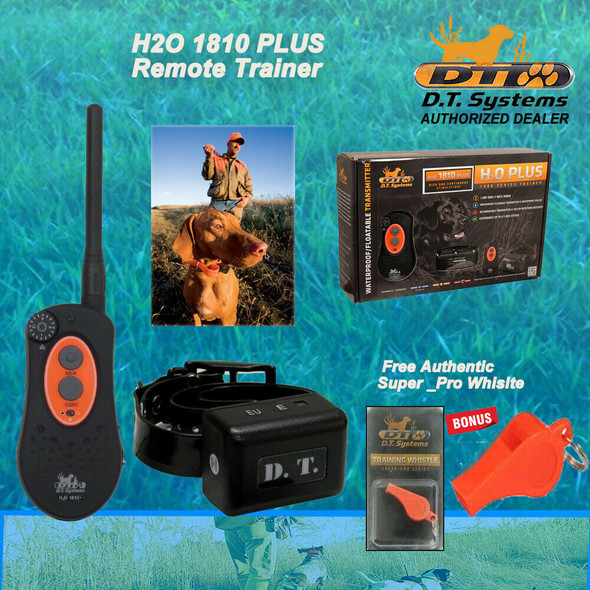 DT Systems H2O 1810 Plus Remote Trainer - Free DT Systems Orange Whistle