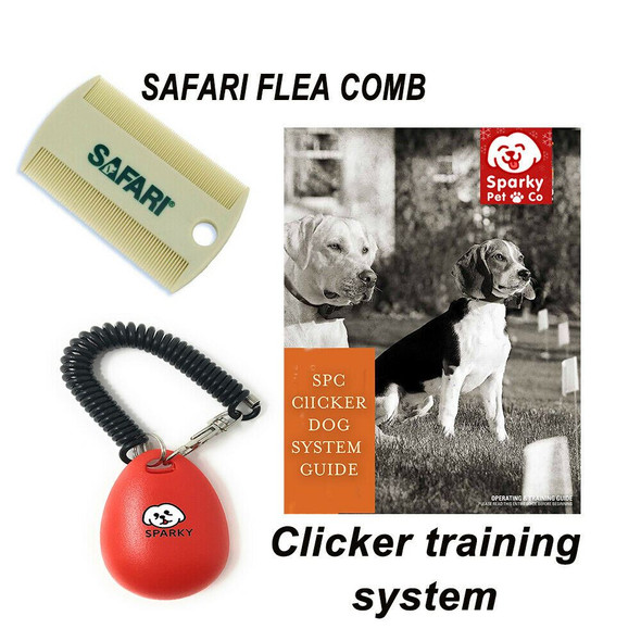 DT Systems Rapid Access Pro Trainer - R.A.P.T.1400 Free Dog Clicker & Flea Comb