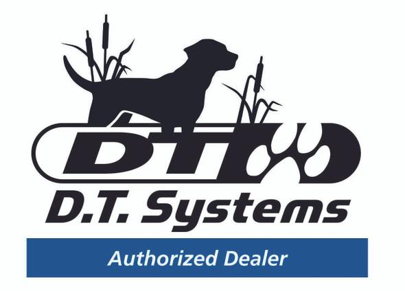 DT Systems Super Pro Dog Training Dummy Launcher with Dummy - Blaze White