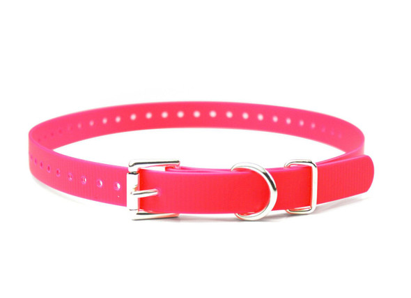 "3/4"" Sparky Pet Co Biothane Strap  Choose Color From 6 E-Collar Biothane Straps"