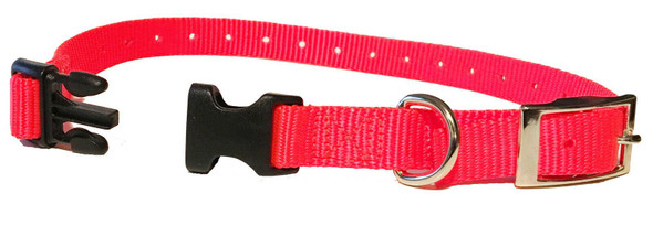 "Sparky Pet 3/4"" E-Collar Compatible E-Collar Nylon Double Buckle Strap 3 Colors"