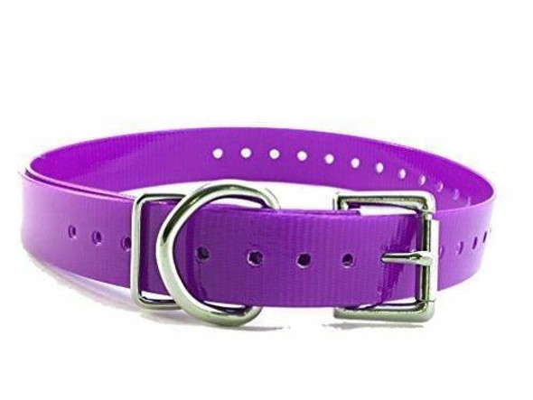 """Sparky Pet 3/4"""" High Flex, Waterproof Replacement Square Buckle Dog Collar"""