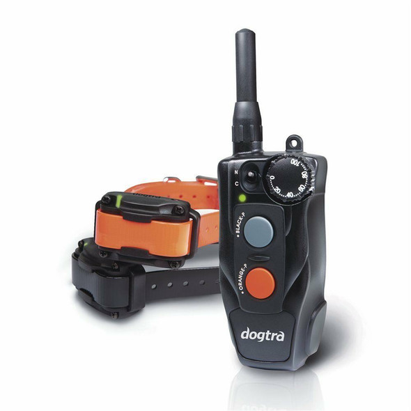 Dogtra 202C 2 Dog Remote Dog Training System 2 Dog /2 Free Straps And Cliker