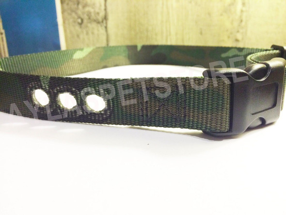 1 Inch Camo Replacement Collar Strap RFA- 48 Fits PIF-275-19 3 Hole