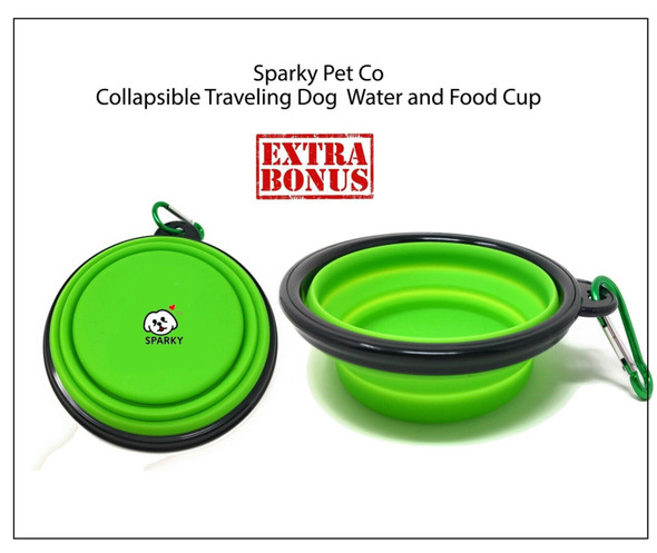 Dogtra Dual Dial Train & Beep,2 Free Replacement Straps Sparky Pet Co Training System,Bowl