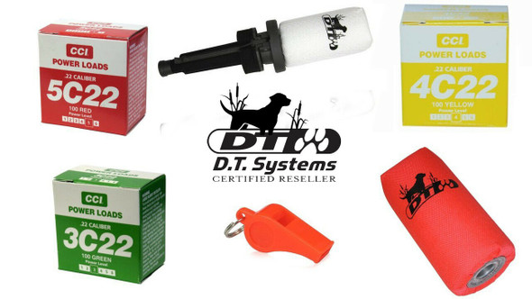 DT Systems Super Pro Launcher with All Power Loads & Whistle