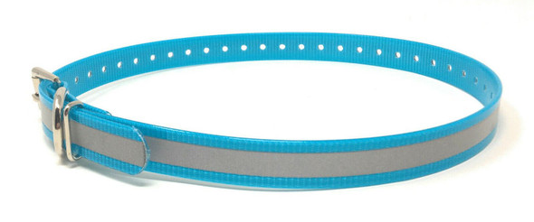 "Sparky Pet Co 3/4"" Waterproof, Reflective Dog Straps 9 Colors In The"