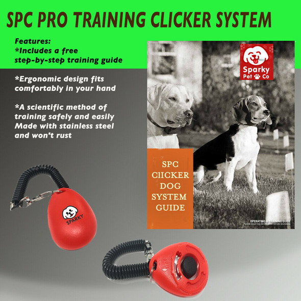Sparky Pet Co Pro-Training Clicker Dog Trainer System