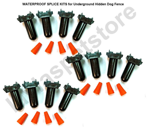 Waterproof Splice Kits Superpack for Underground Hidden Dog Fence (6 Sets of 2 Kits)