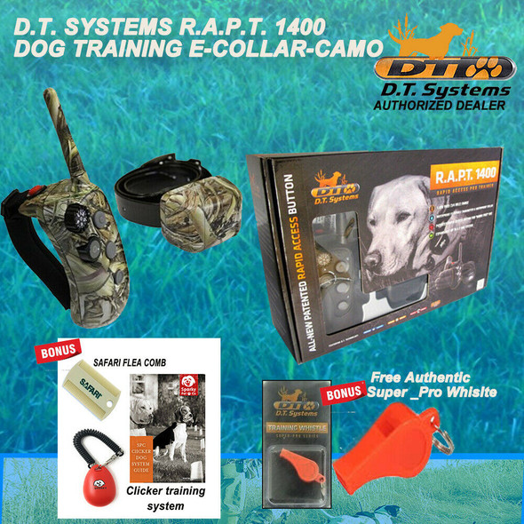 DT Systems Rapid Access Pro Trainer RAPT1400 Camo Free Whistle, Clicker & Comb