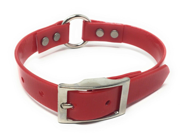 """Sparky Pet Co 3/4"""" Heavy Duty Waterproof 18"""" High Flex Strap with """"O"""" Ring"""