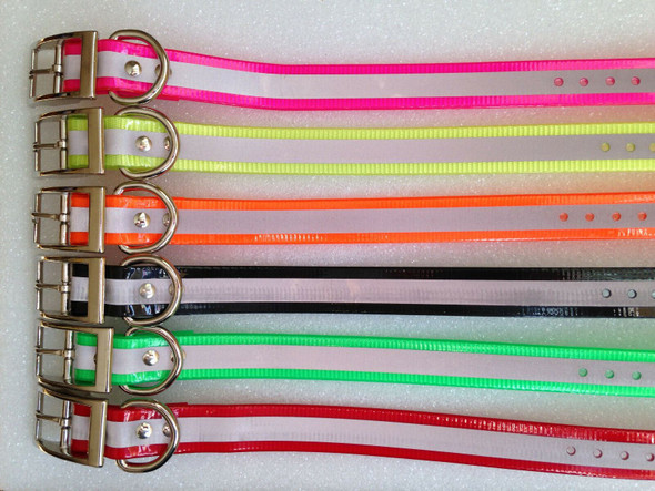 Sparky Pet Co Dogtra 3/4 Inch Replacement Dog Collar Strap Solid Reflective