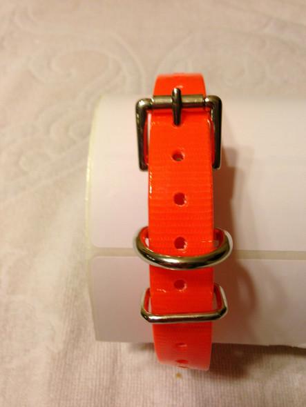 "Dogtra Innotek Tri-Tronics Compatible 3/4"" Hi Flex Roller Buckle Straps"