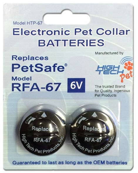 "1"" Dog Fence 3 Hole Replacement Collar Strap RFA 48 4 High Tech Battery RFA 65"