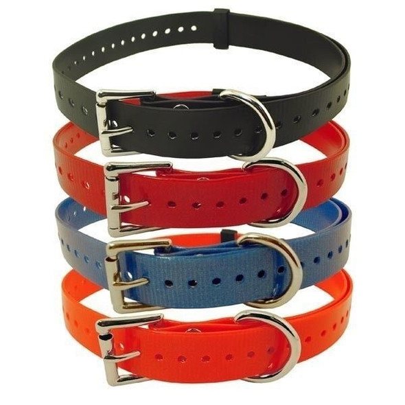 "Tri-Tronics 1"" Replacement Receiver Straps - All Colors"
