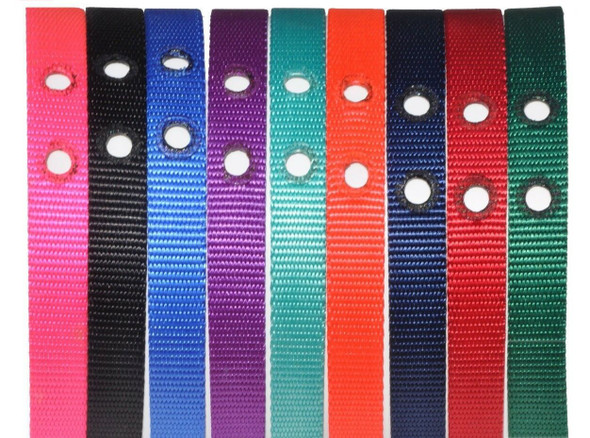 Electric Fence Nylon Replacement Dog Fence Collar Red, Blue, Green, Black, Pink