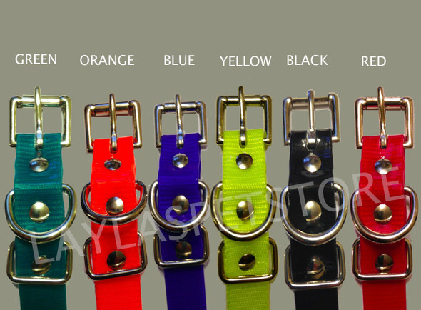 """Dogtra Compatible Replacement Dog Receiver Straps 3/4"""" X 28""""- 8 Colors To Choose From"""