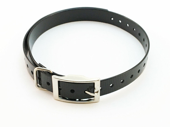 Sparky Pet Co Garmin TT10 Compatible  Collar Straps Black High Flex Straps