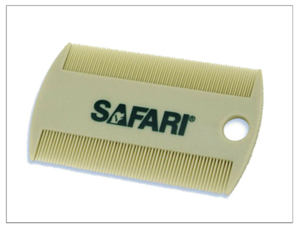 "3/4"" 2 Hole Replacement Collar Strap with Safari Flea Comb"